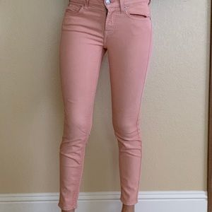 7 for all mankind colored cropped skinny jean